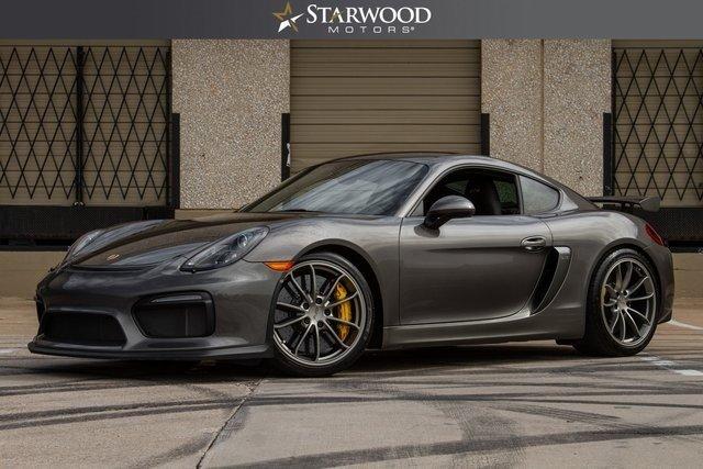 Starwood Motors 4641 Nall Road Dallas TX 75244 Sd Logo 2016 Porsche Cayman Gt4
