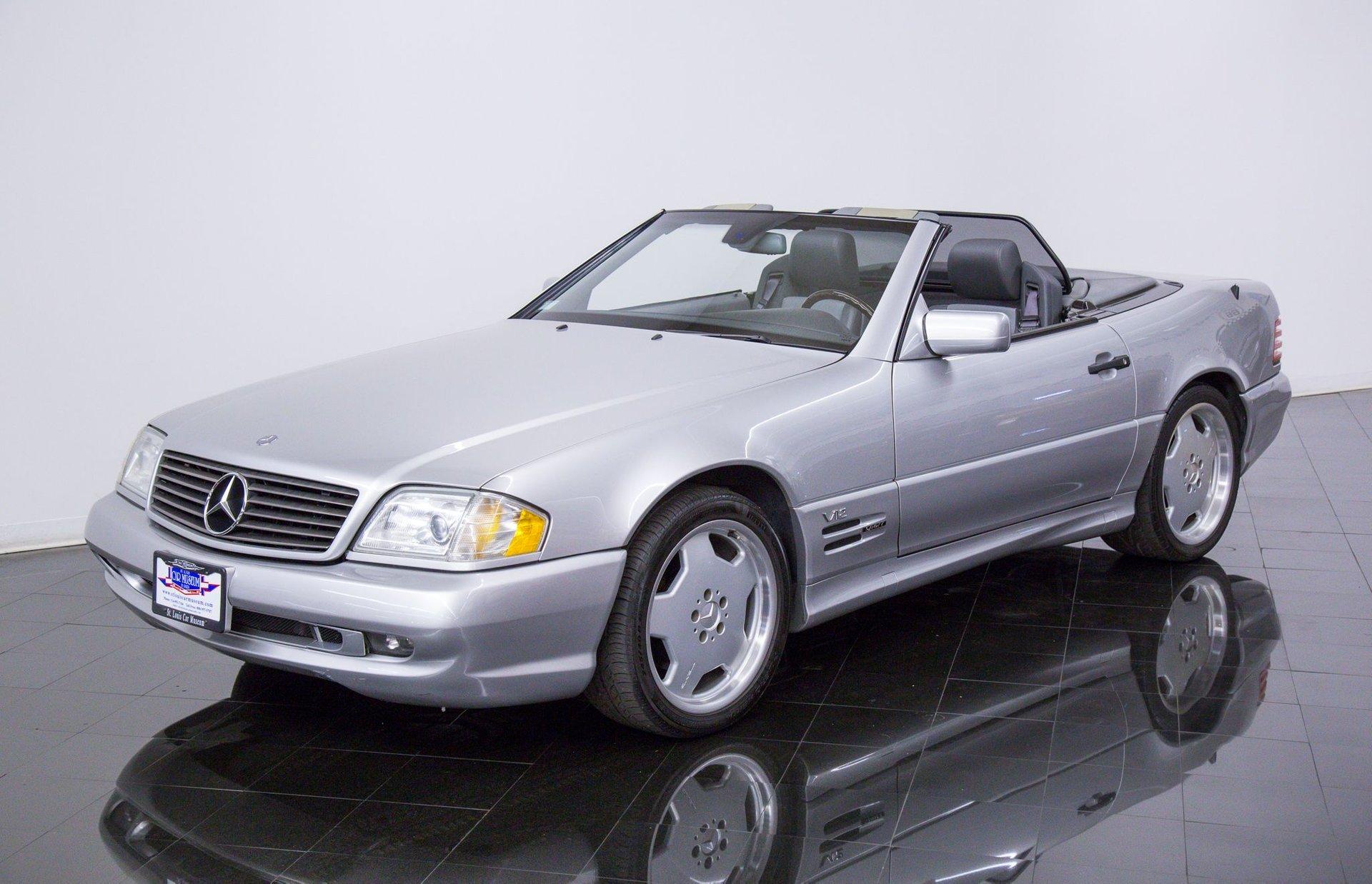 1998 mercedes benz sl600