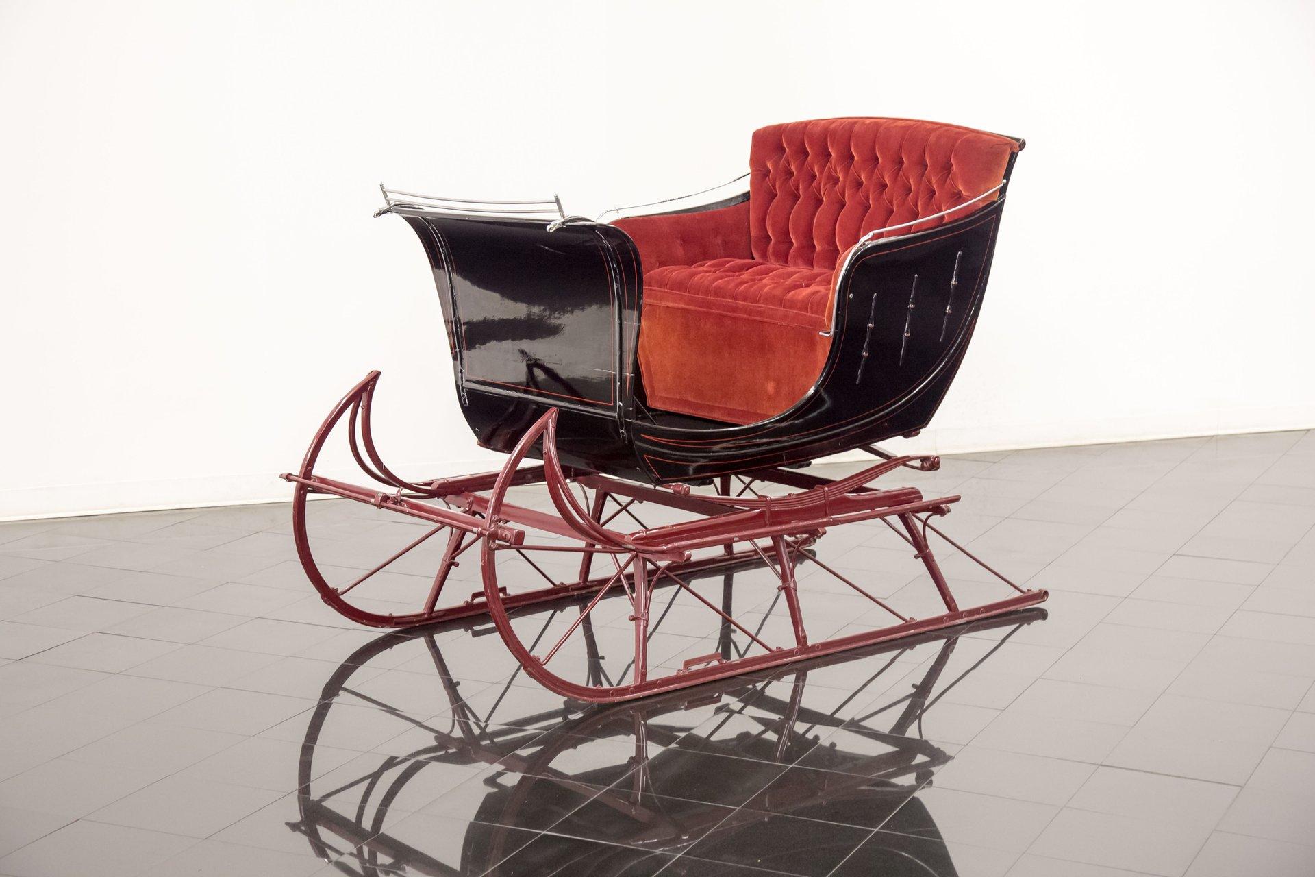 Owosso carriage sleigh co portland cutter sleigh