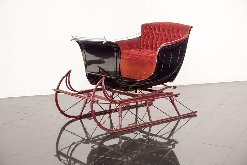 Owosso Carriage & Sleigh Co. Portland Cutter Sleigh