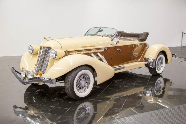 1936 Auburn 876 Boattail Phaeton by California Custom Coach