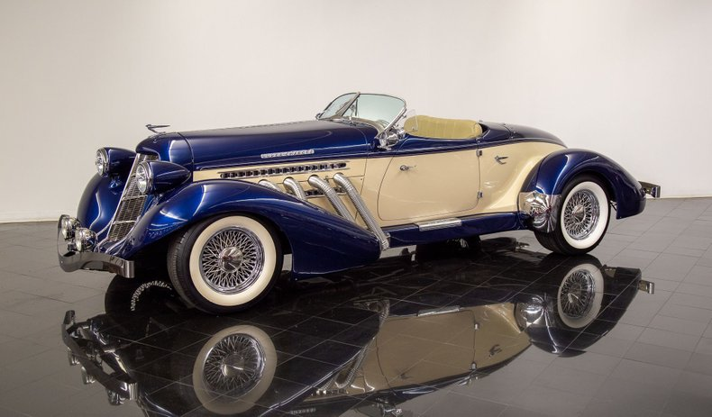 1936 Auburn 852 By Speedster Motorcar