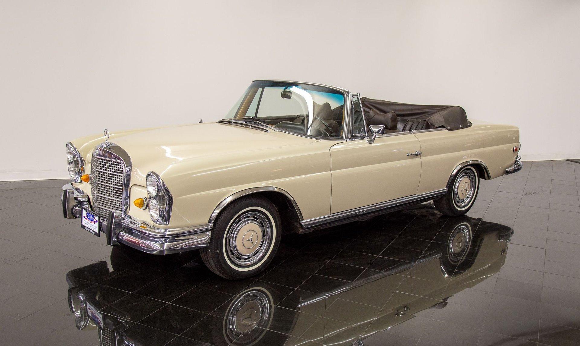 1969 mercedes benz 280se cabriolet