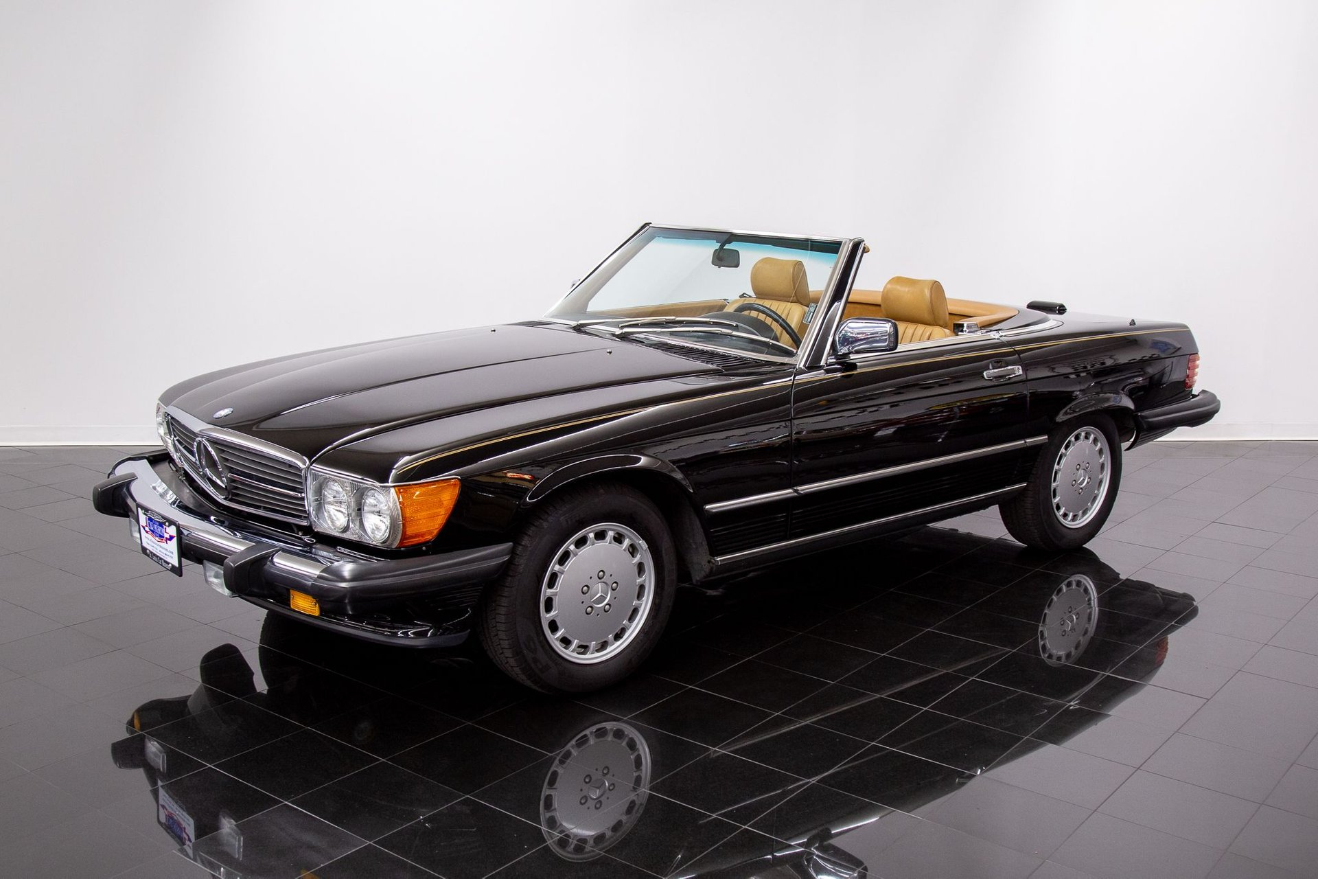 1988 mercedes benz 560sl convertible