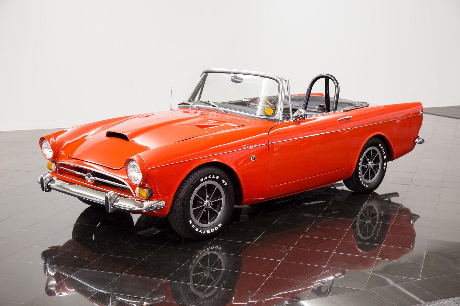 1966 sunbeam tiger sports roadster