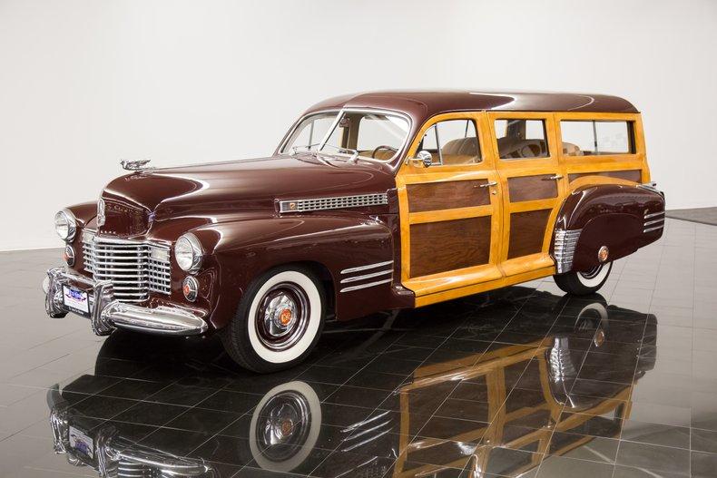 1941年 キャデラック シリーズ61 ウッディ ワゴン