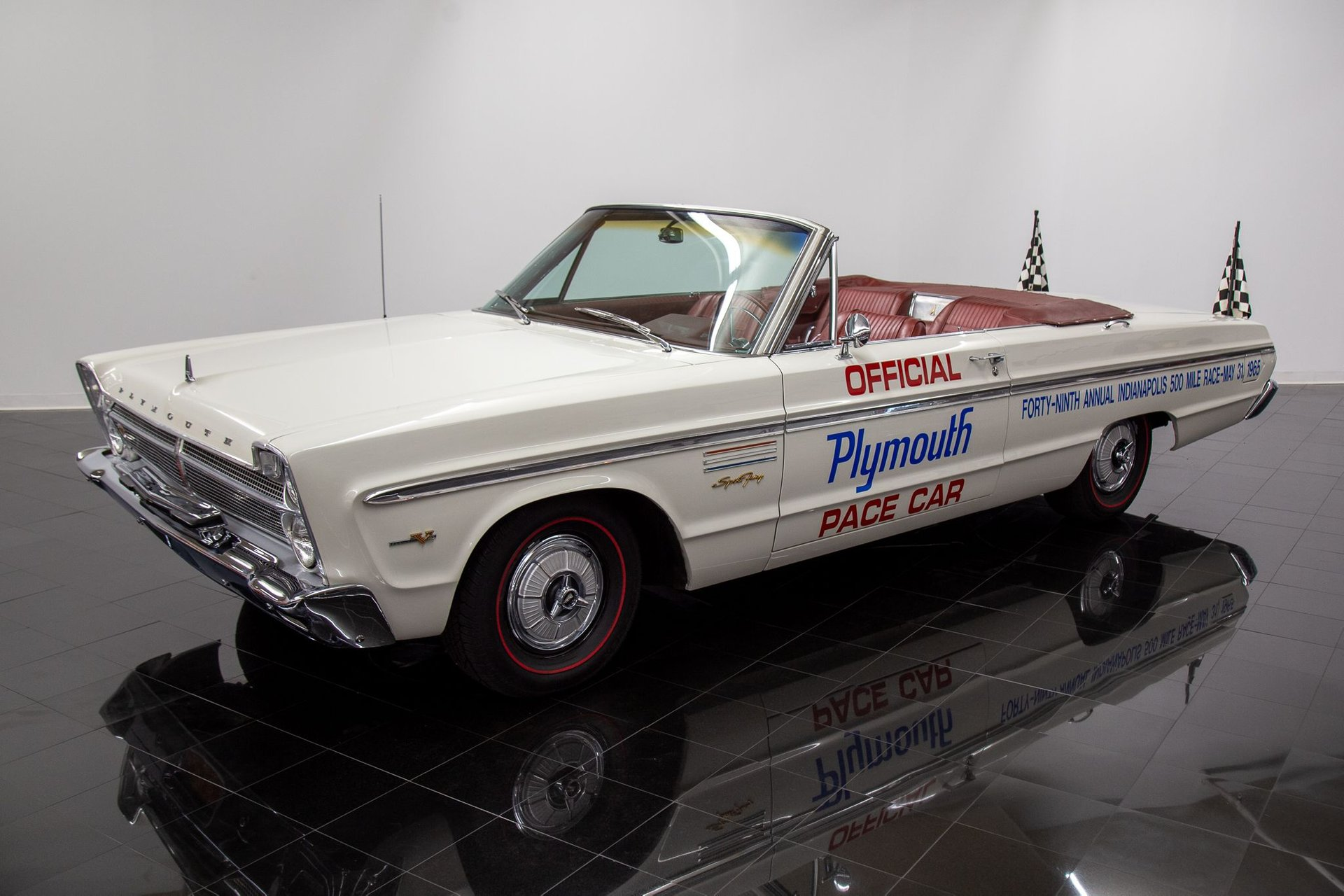 1965 plymouth sport fury convertible pace car