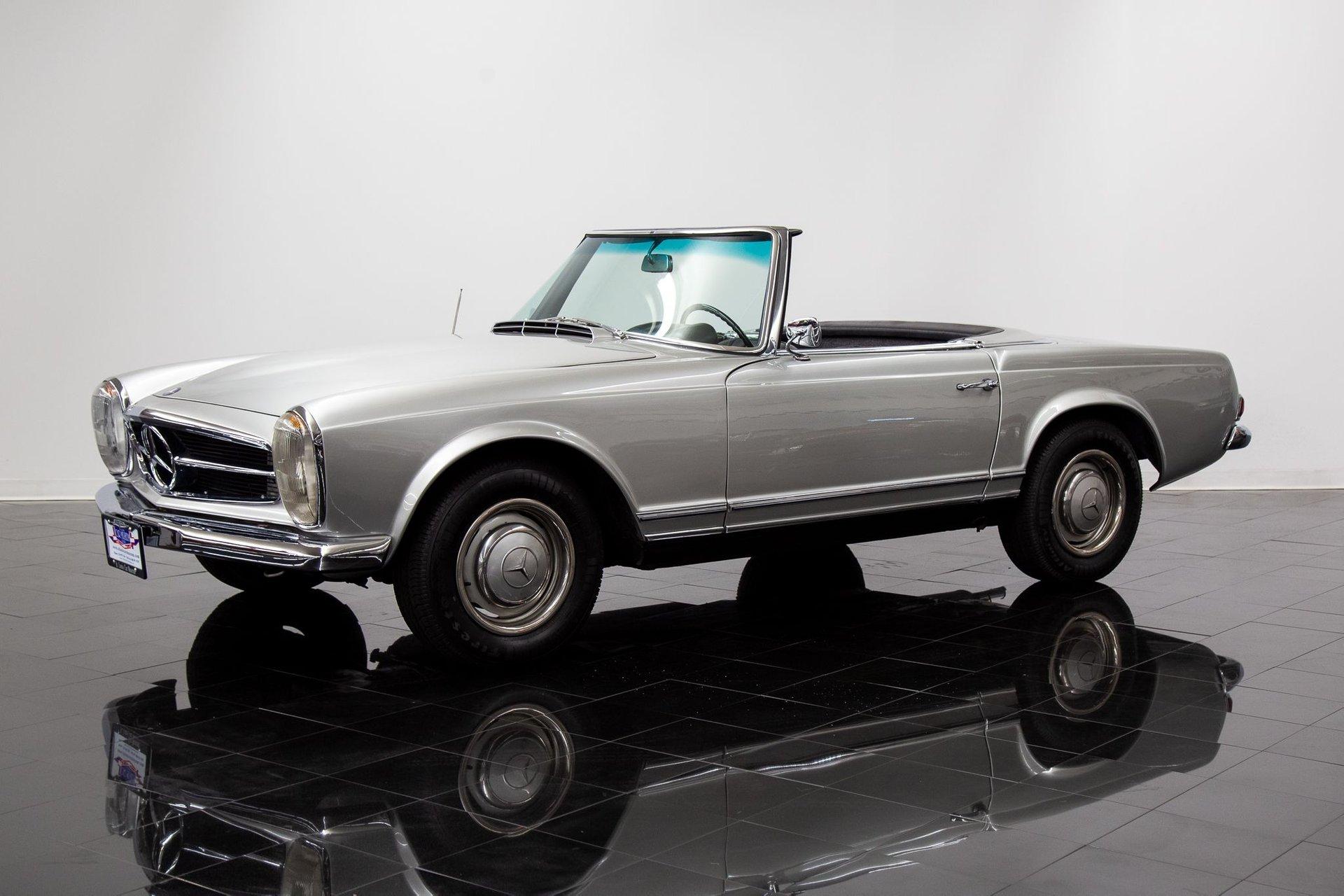 1966 mercedes benz 230sl convertible