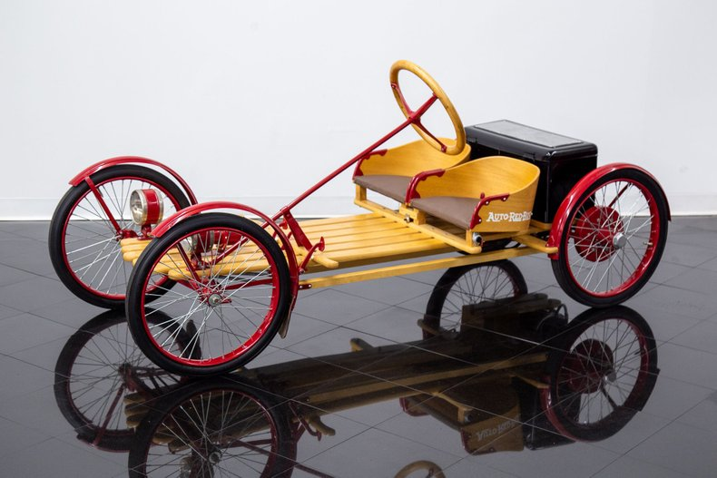 1920 Auto Red Bug Buck Board