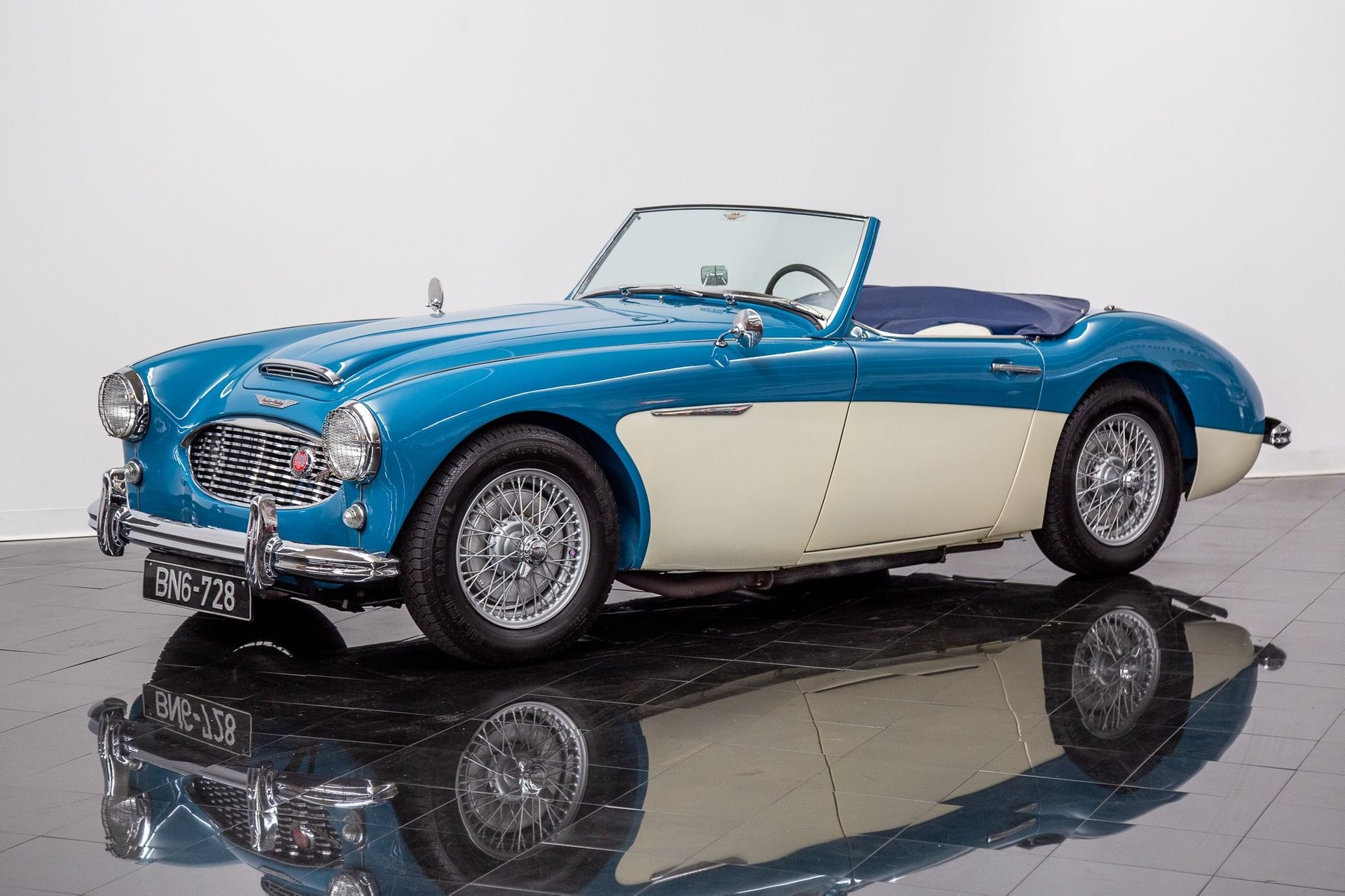 1958 austin healey 100 6 bn6 2 seater roadster