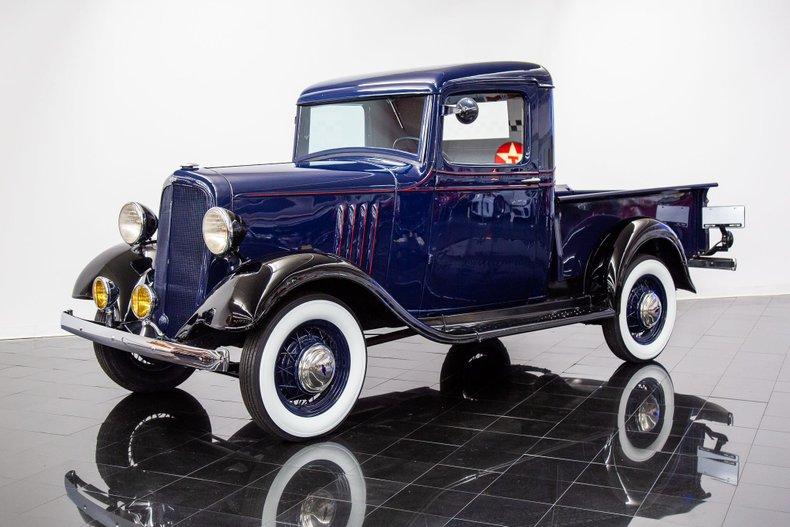 1934 Chevrolet DB Master Closed Cab 1/2 Ton Pickup