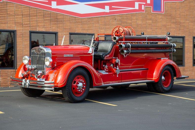 1937 Autocar Pumper