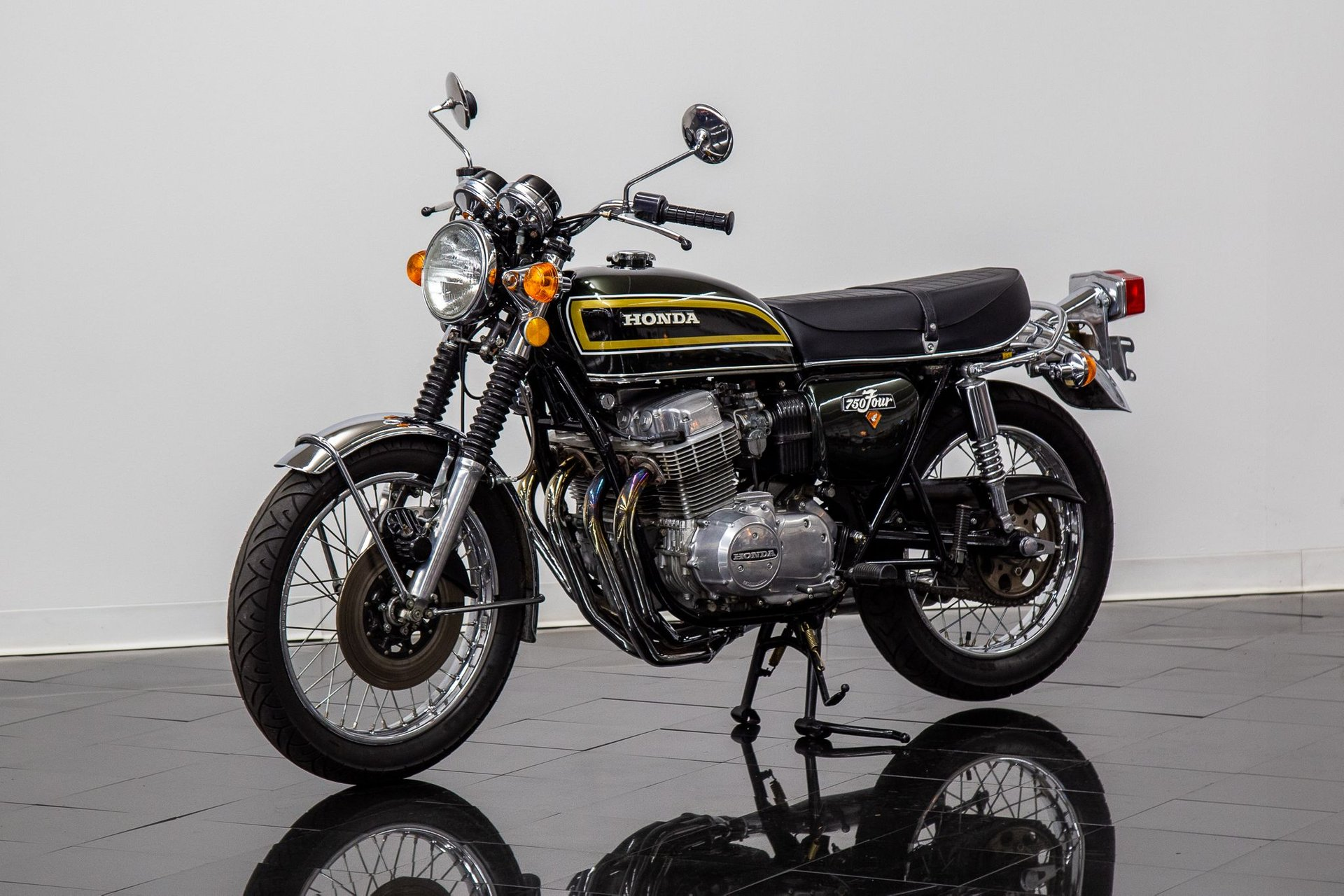 1973 honda cb 750 four motorcycle