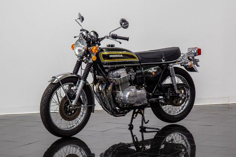 1973 Honda CB 750 Four Motorcycle