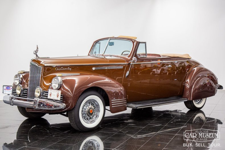 1942 Packard One-Twenty Convertible Coupe