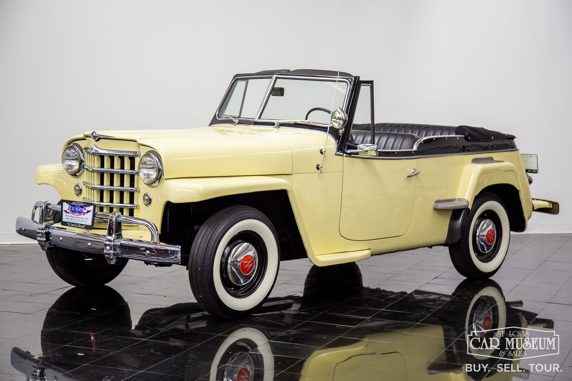 1950 willys overland jeepster phaeton