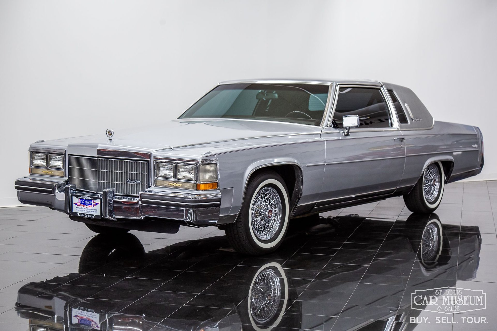 1985 cadillac fleetwood brougham d elegance coupe