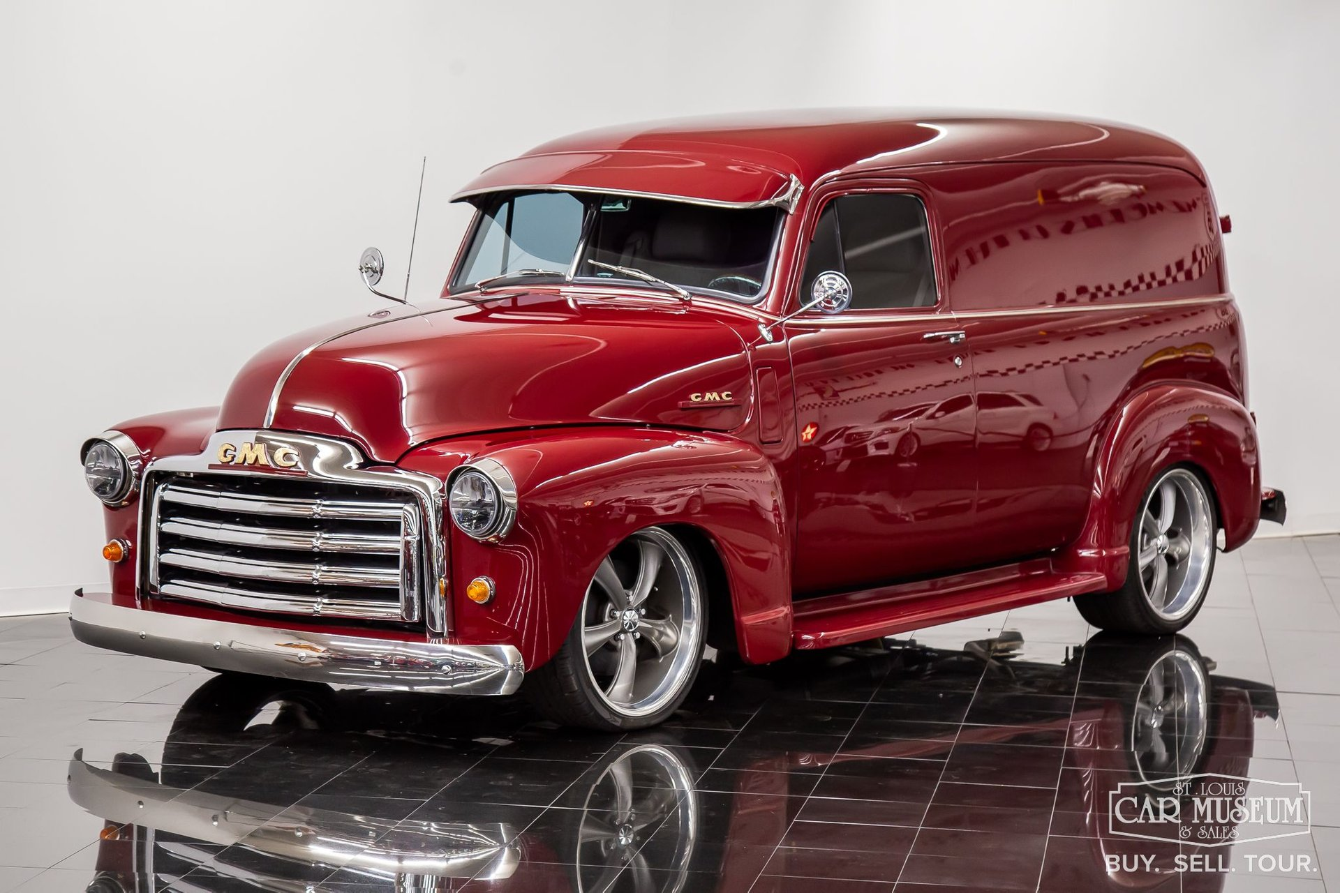 1951 gmc 100 panel delivery