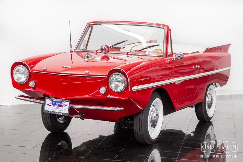 1962 Amphicar Model