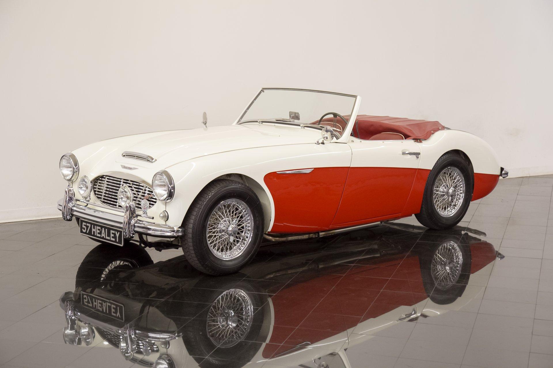 1957 austin healey 1006 bn4 2 2 roadster