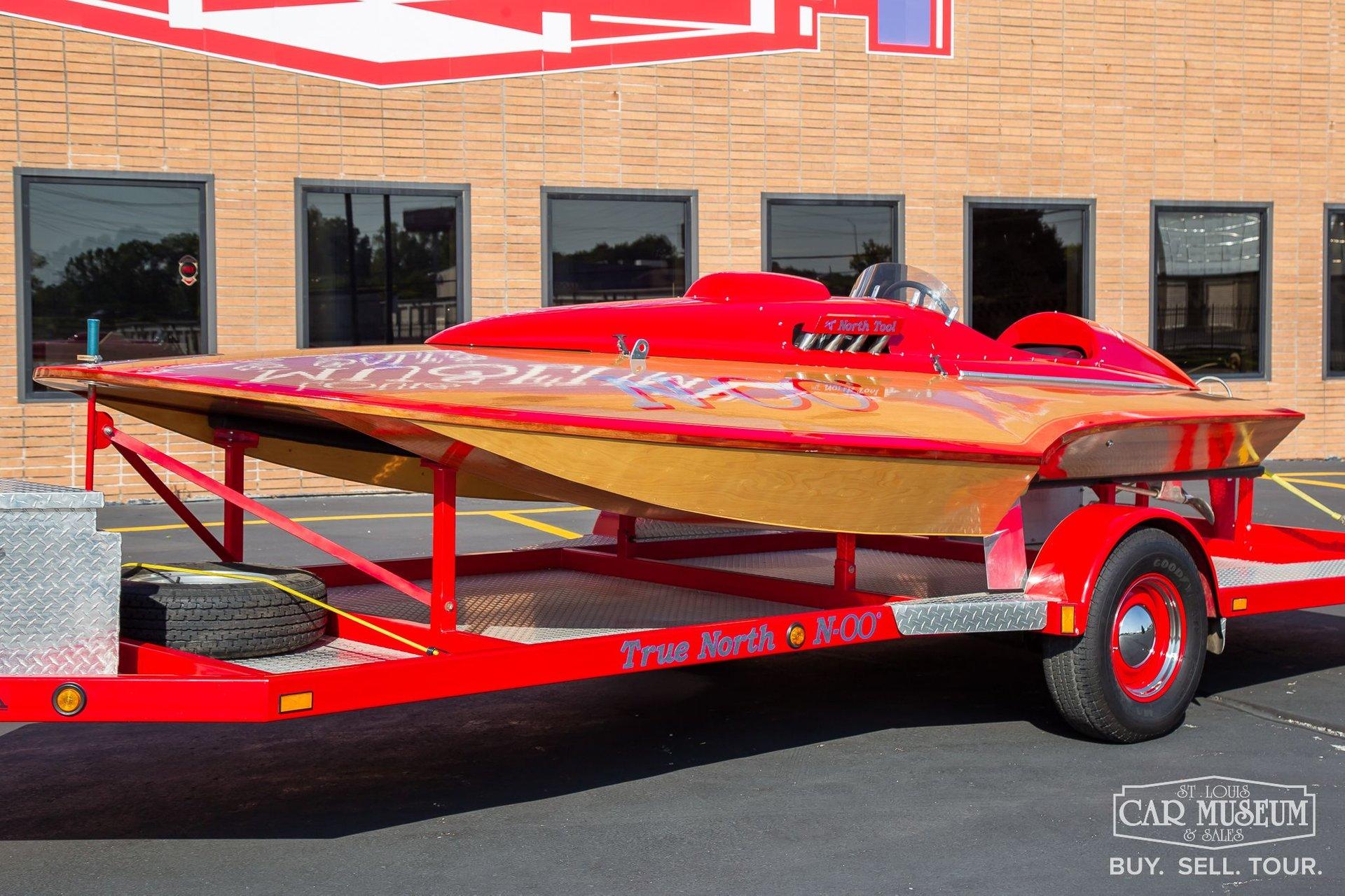 1965 colcock 17 hydroplane race boat