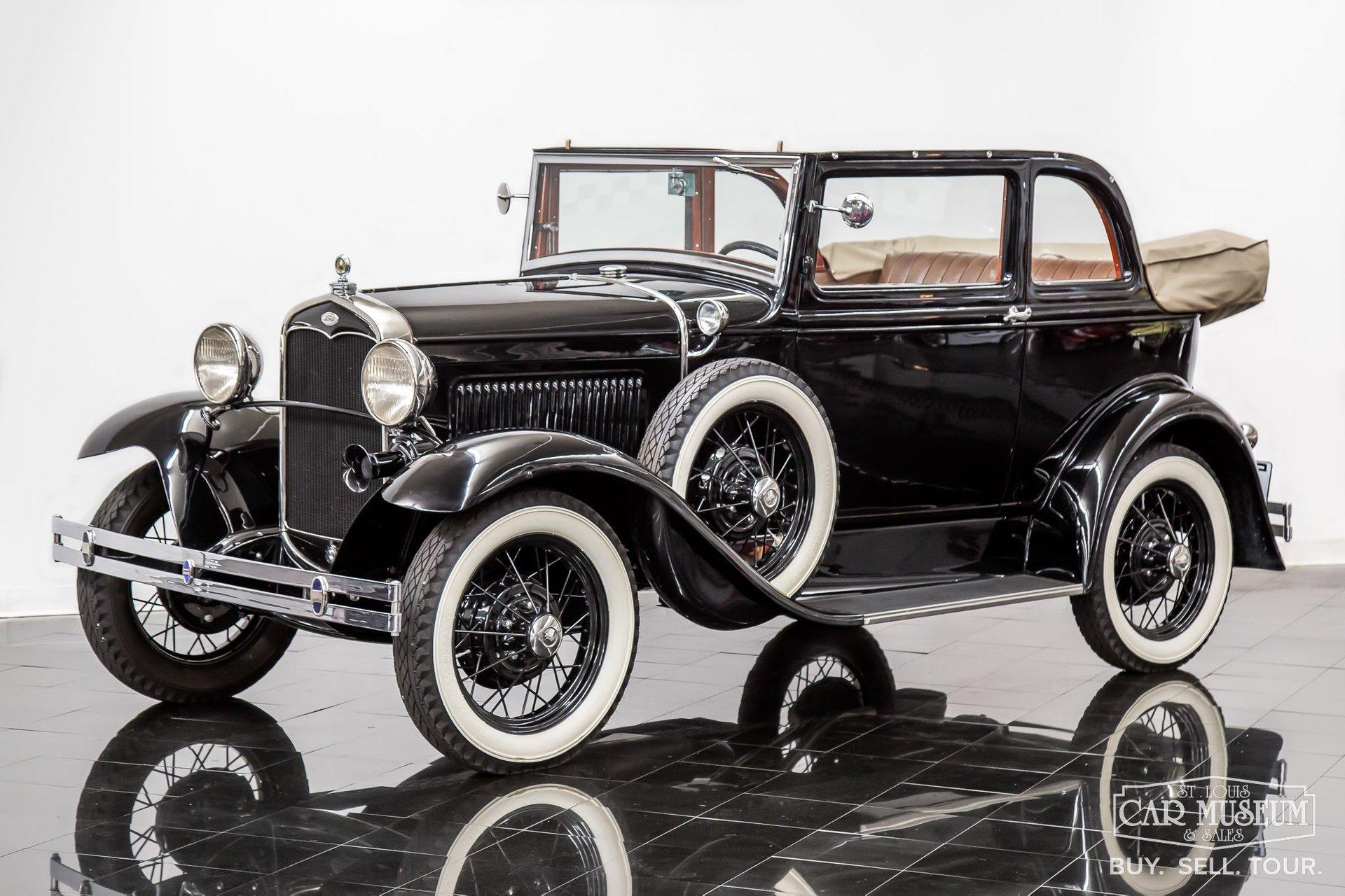 1931 ford model a400 convertible sedan