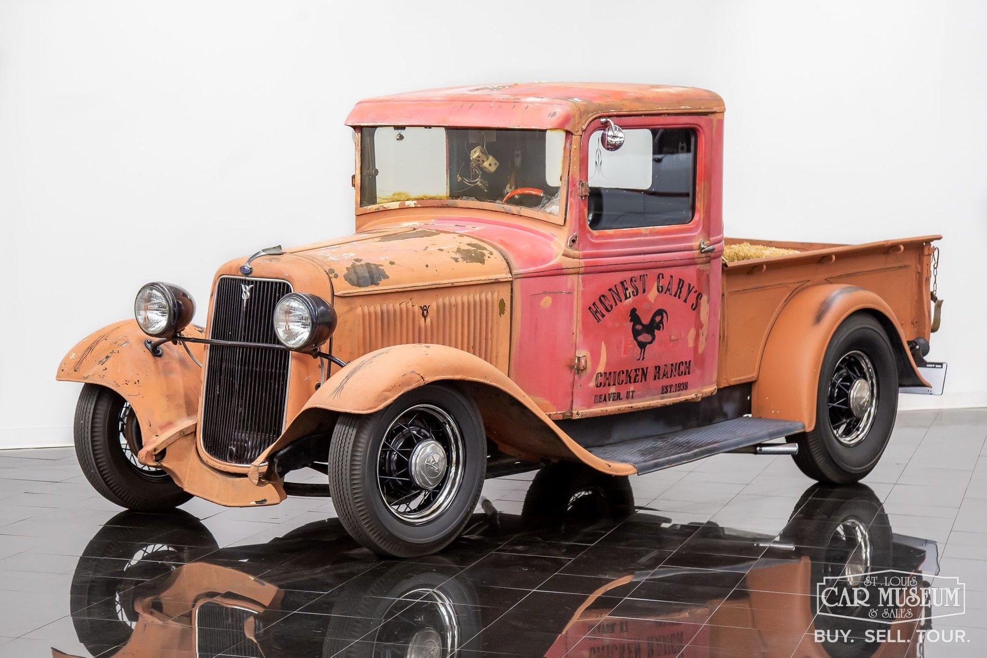 1934 ford pickup rat rod
