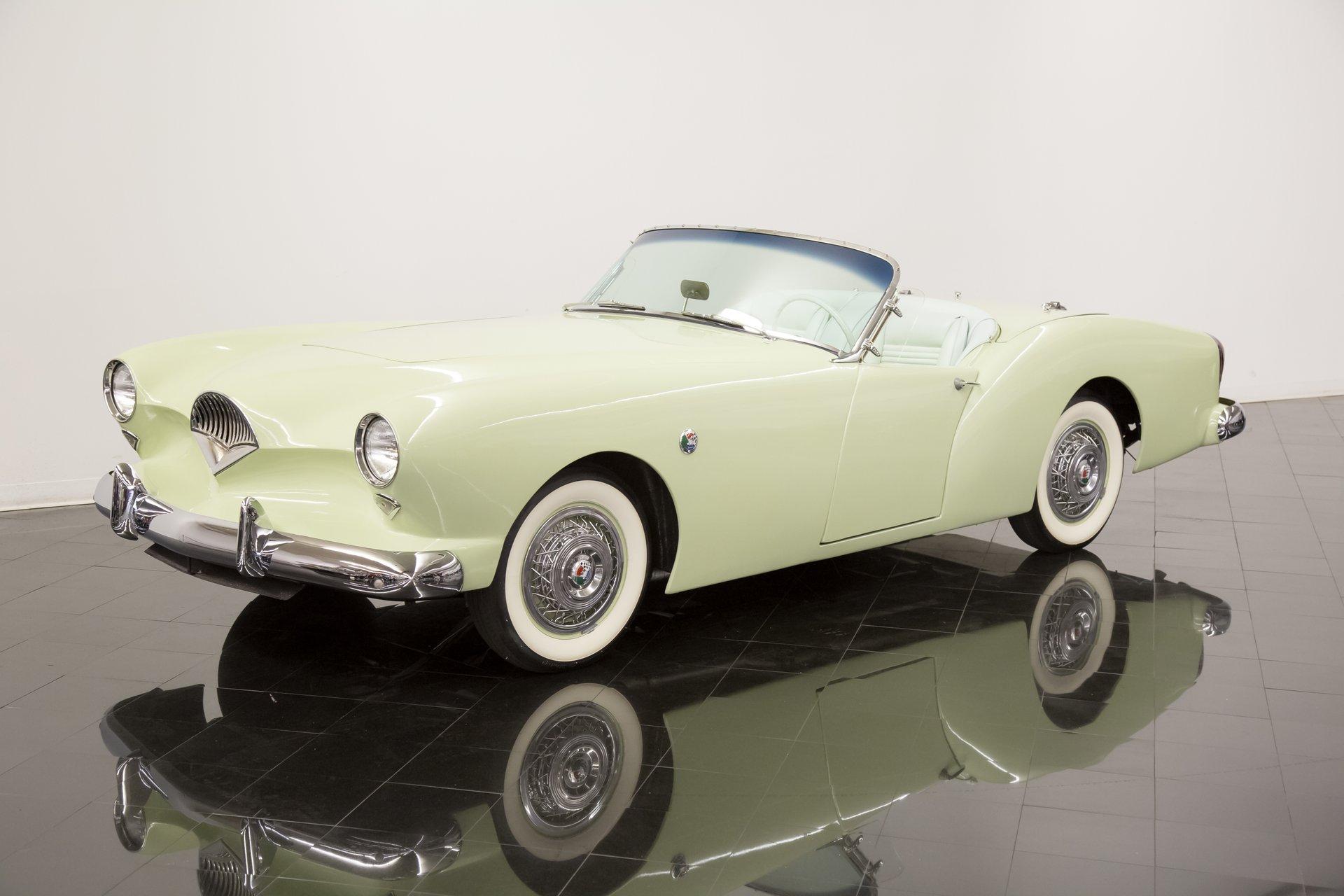 1954 kaiser darrin model 161