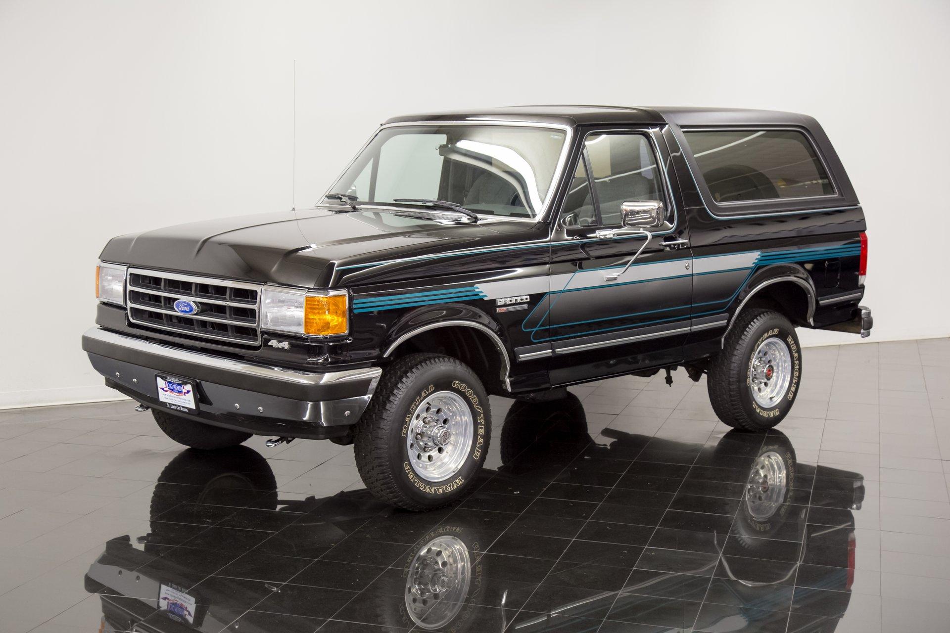 1990 ford bronco xlt 4x4