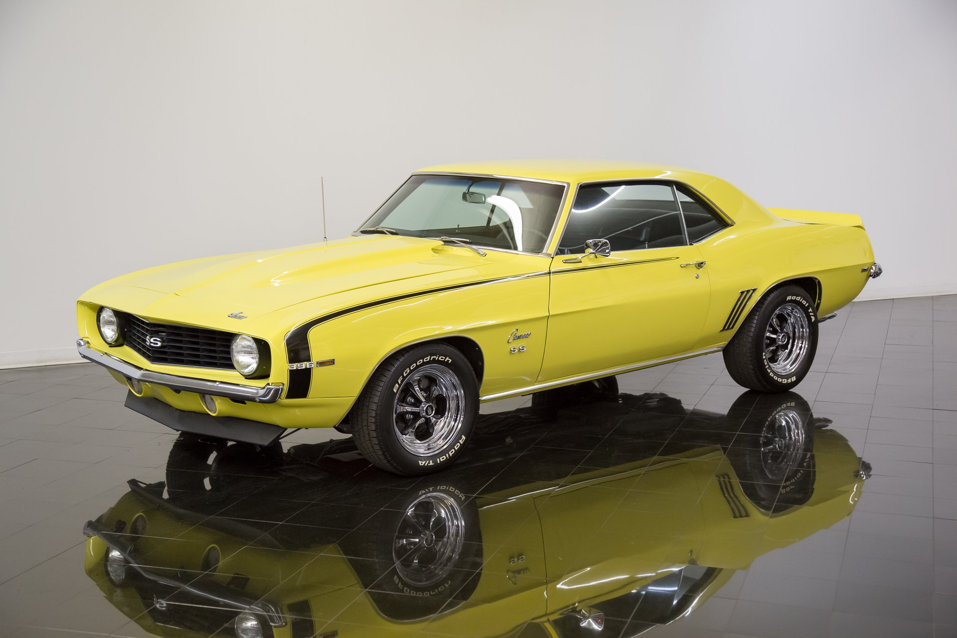 1969 chevrolet camaro ss396 tribute