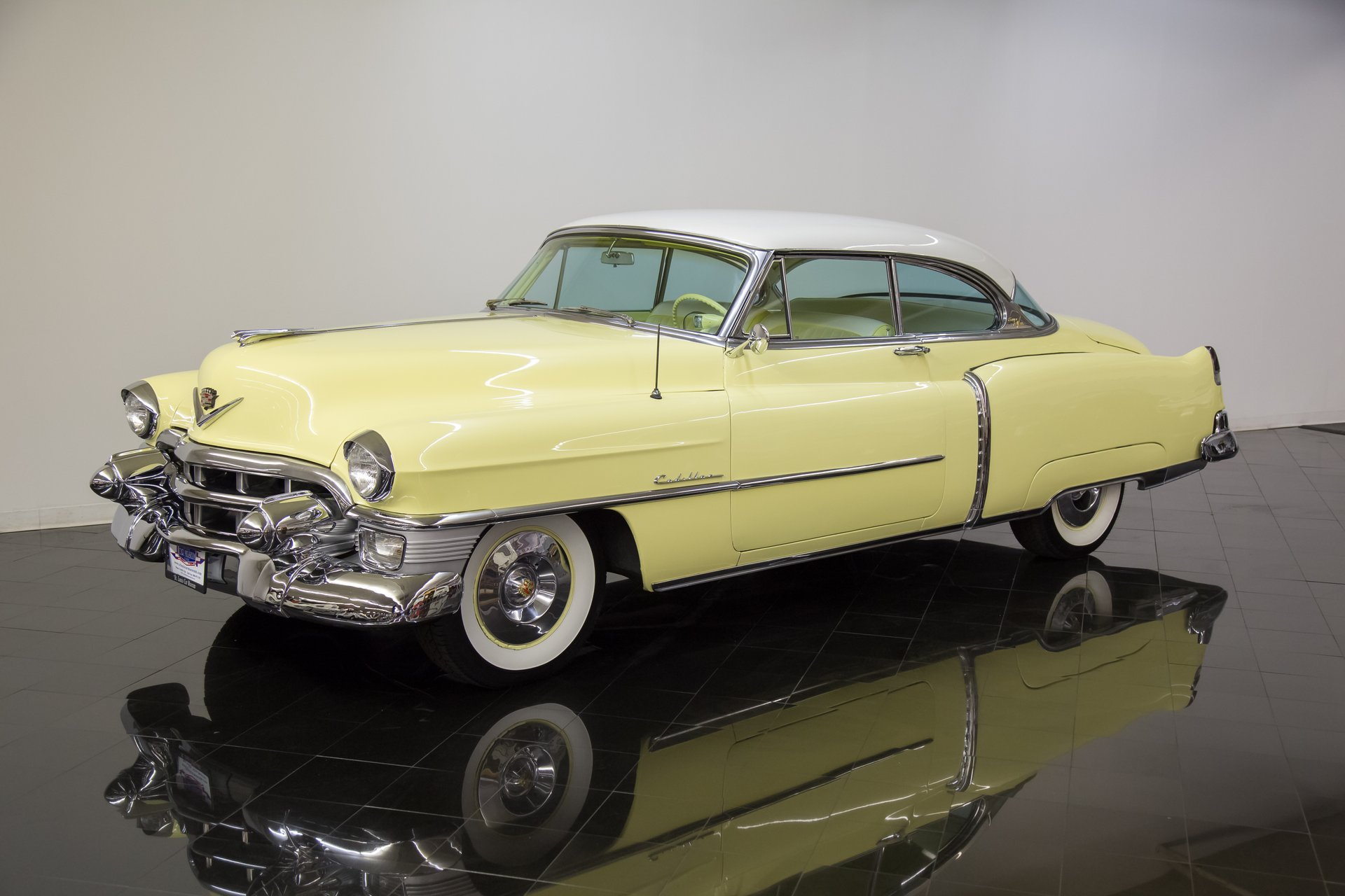 1953 cadillac coupe deville series 62