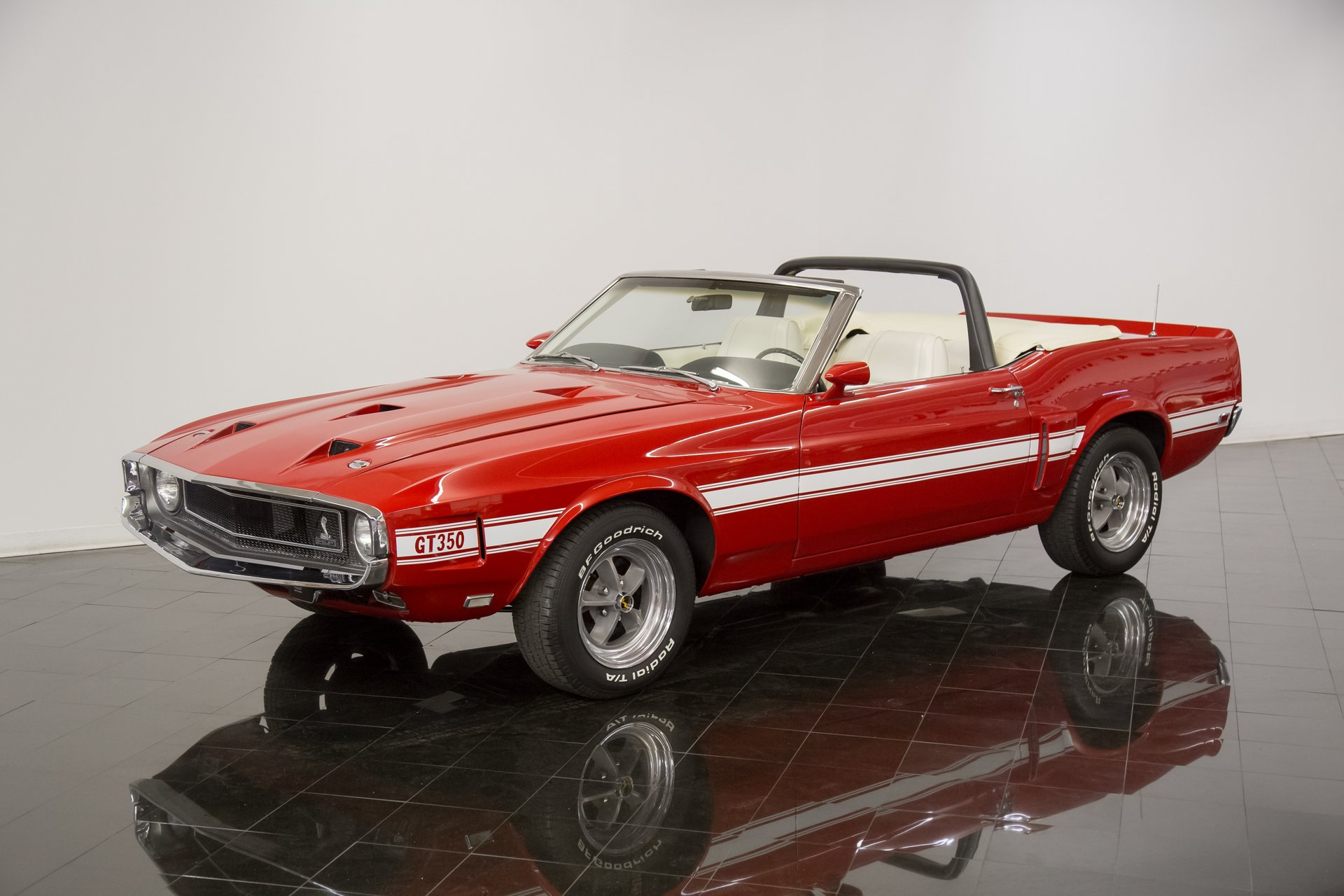1969 ford mustang shelby gt350 tribute