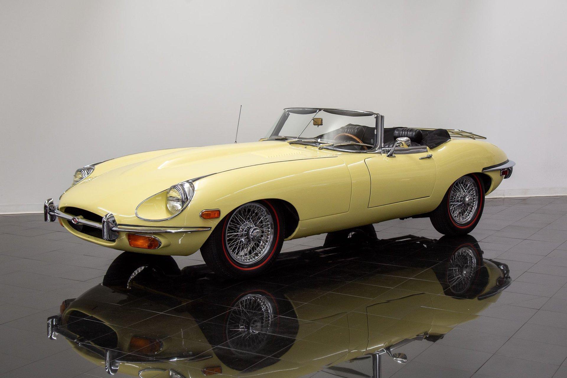 1969 jaguar e type series ii