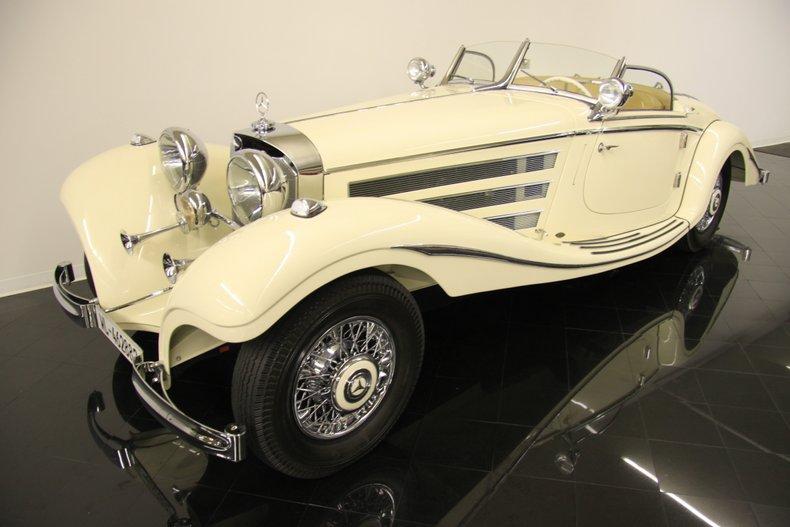 1935年 メルセデス ベンツ 500K スペシャル ロードスター