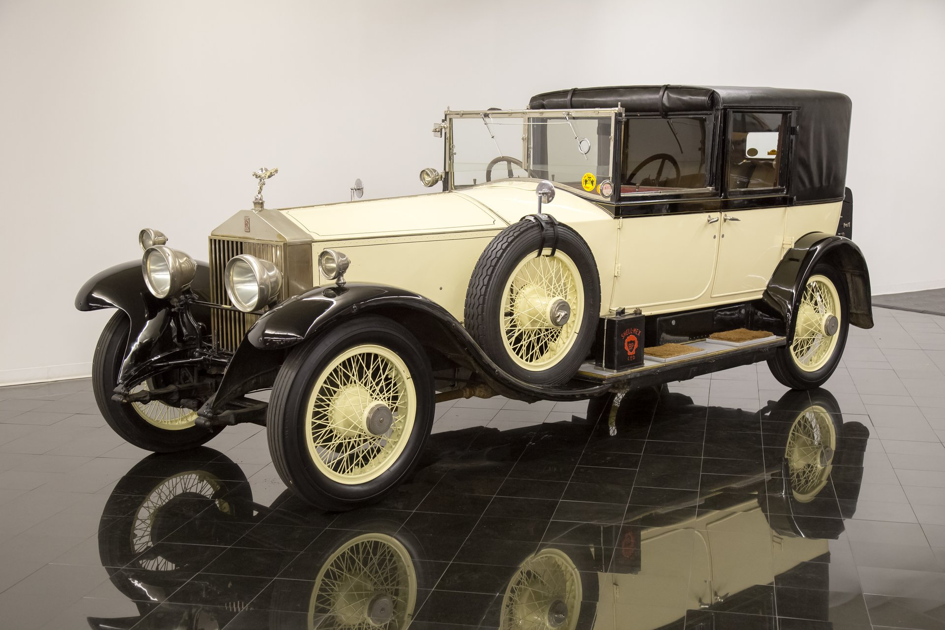 1926 rolls royce phantom i sedanca deville by barker
