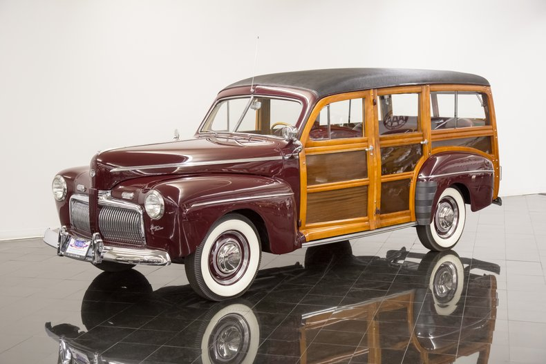 1942年 フォード スーパー デラックス  ウッディ ステーション ワゴン
