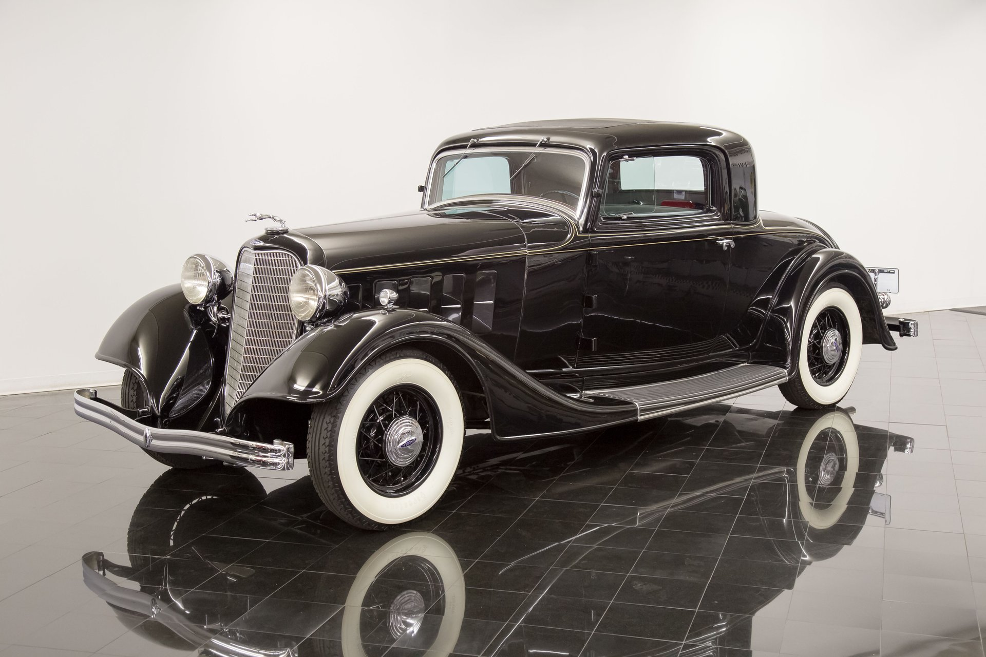 1934 lincoln ka 522 a 2 4 passenger rumble seat
