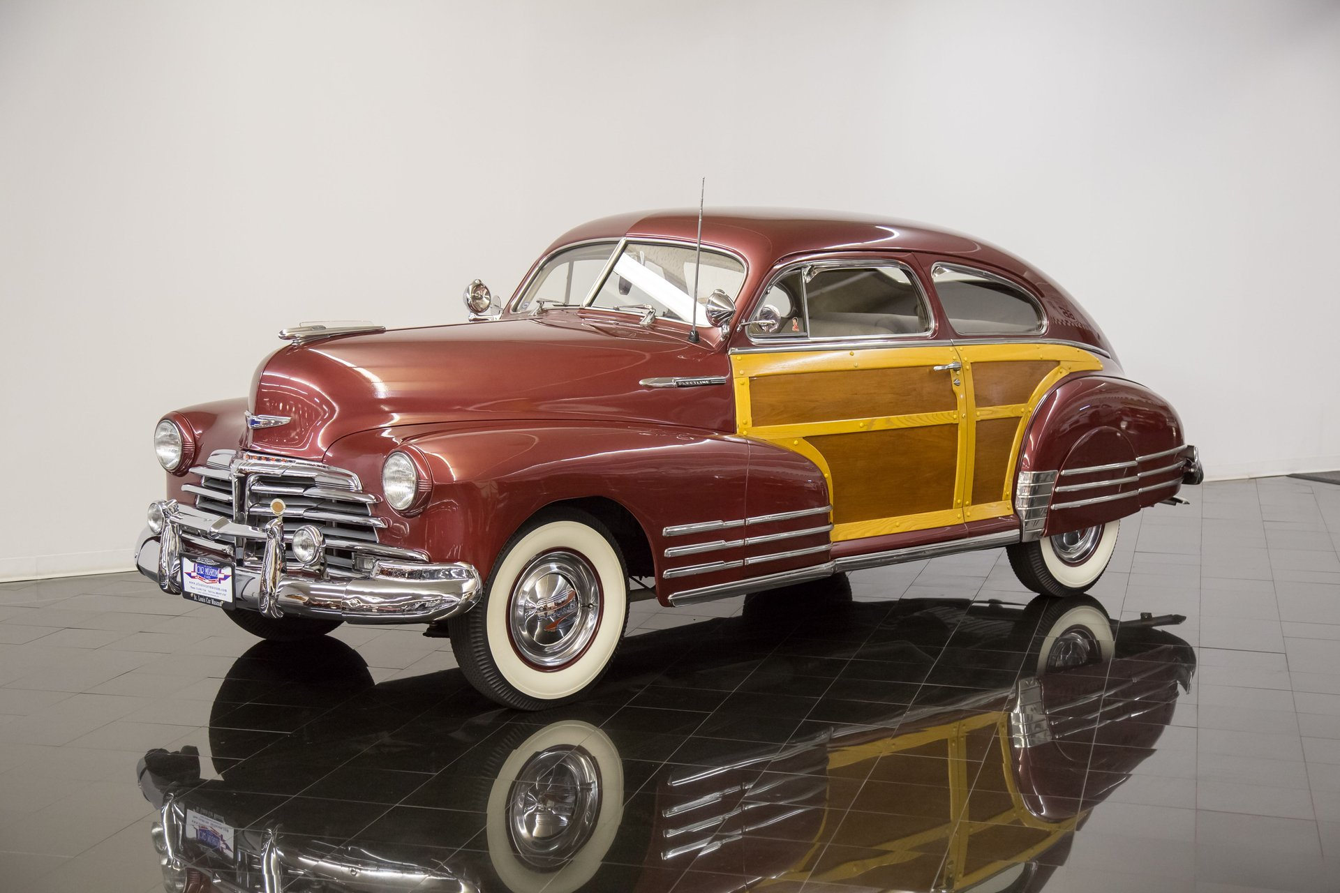 1948 chevrolet fleetline country club aerosedan
