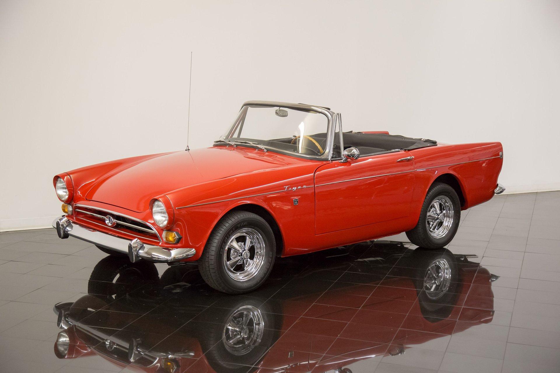 1966 sunbeam tiger mk1a convertible