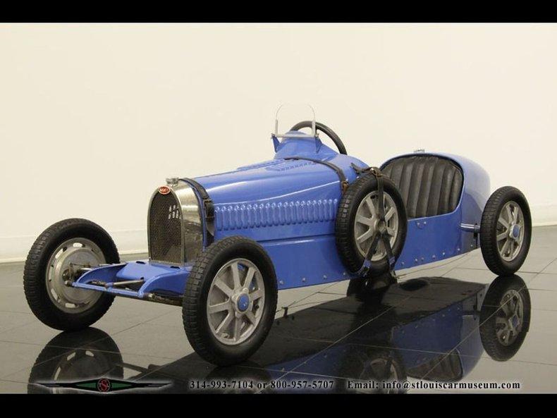 1929 Baby Bugatti Type 52 Replica