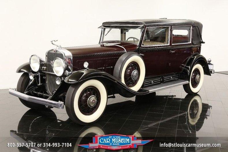1931 Cadillac V-16 Madam-X Landau Sedan