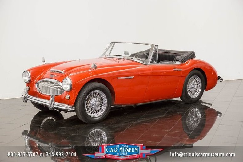 1963 Austin-Healey 3000 Mark II