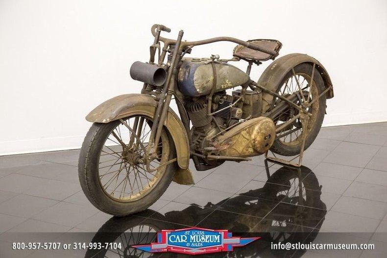 1926 Harley-Davidson Motorcycle
