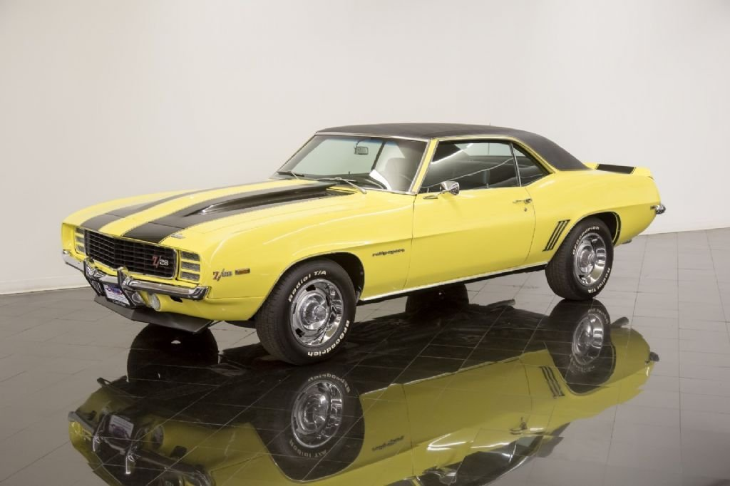 1969 chevrolet camaro rs z28