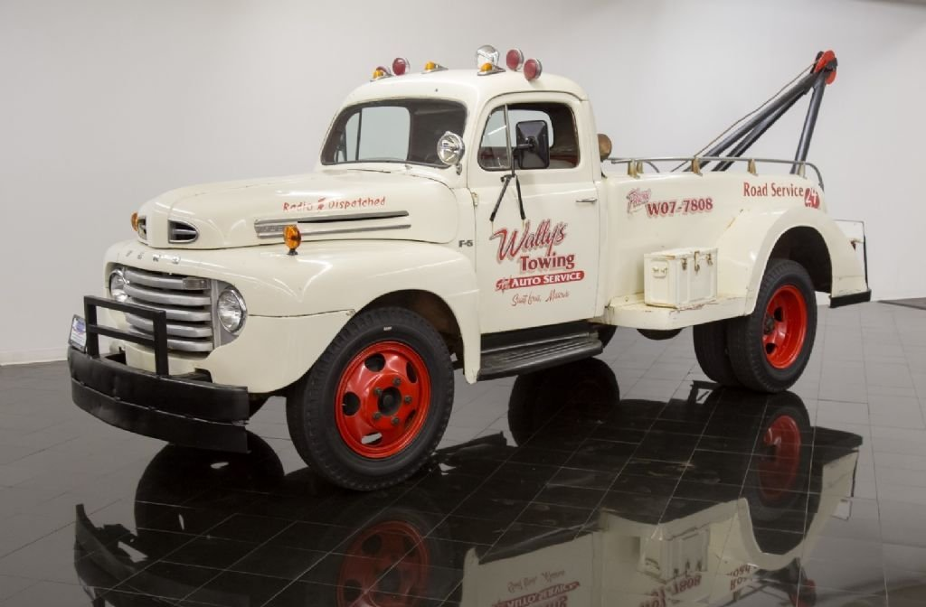1950 ford tow truck
