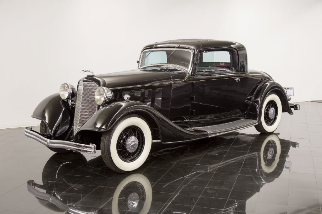 1934 lincoln coupe
