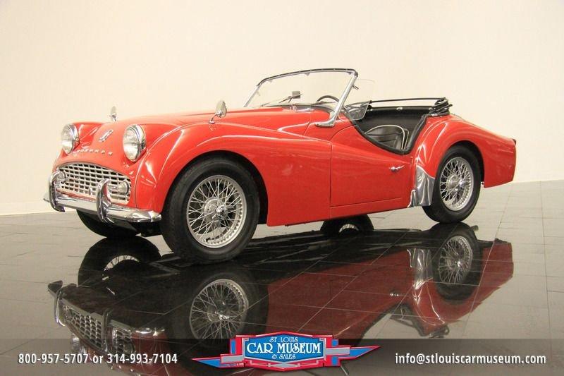 1960 triumph tr3a roadster