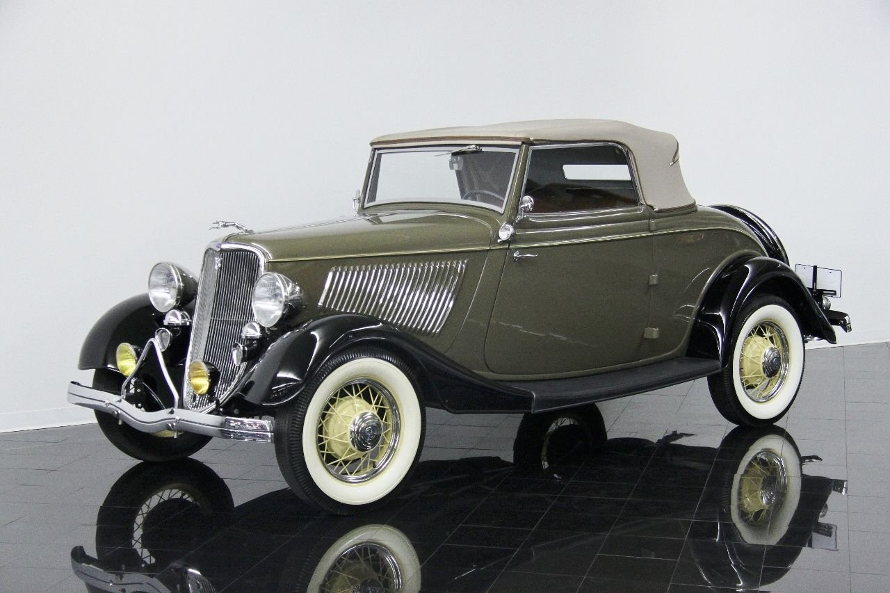 1933 ford model 40 40 deluxe rumble seat roadster