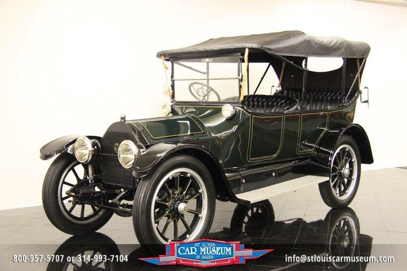 1914 cadillac five passenger touring touring