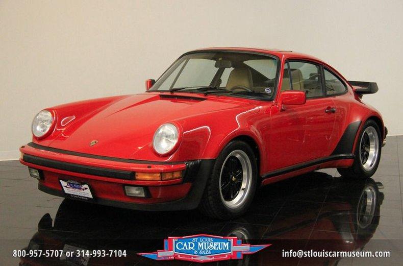 1987 Porsche 911 Turbo (930) Coupe